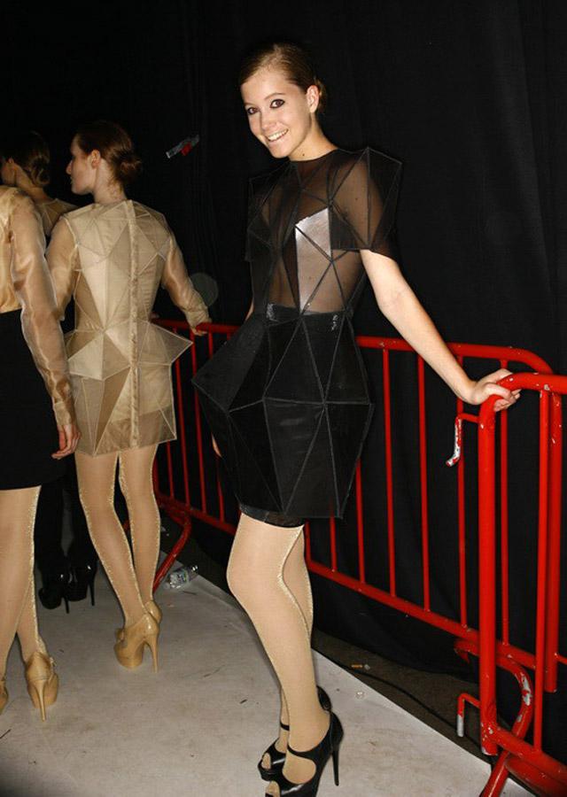 vestito geometrico