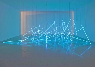 françois morellet neon