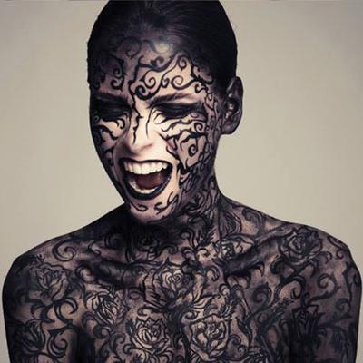 elena tagliapietra body art